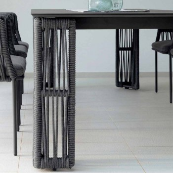 Garden table extendable up to 300 cm by Cliff Talenti by Palomba