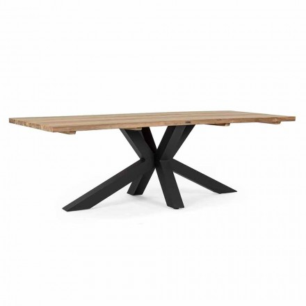 Garden Table with Top in Teak Wood by Homemotion Design - Cowen