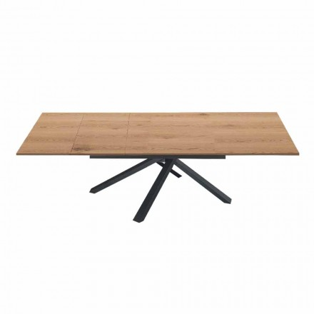 Extendable Dining Table to 260 cm in Modern Design Wood - Gabicce