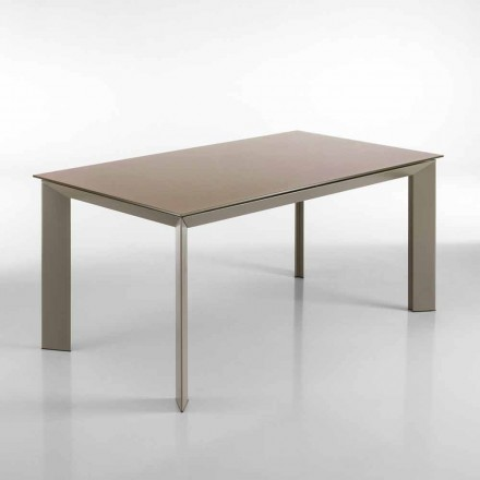 Extendable dining table with a modern design Pardo, H76x90x160(220) cm