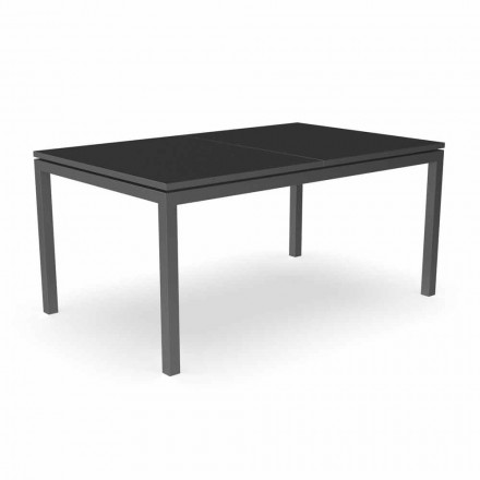 Extendable Garden Dining Table 280 cm in Aluminum - Adam by Talenti