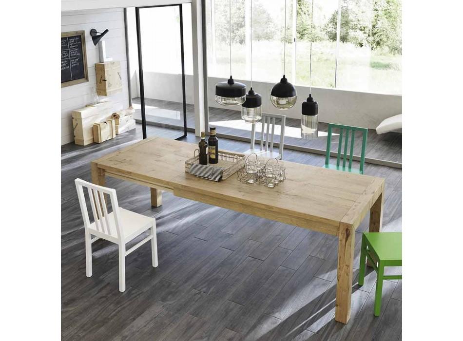 Ciro oak extending table up to 240 cm