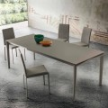 Extendable Dining Table Up to 240 cm in Fenix Made in Italy - Fantastic