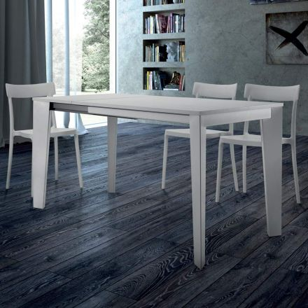 Extendable Dining Table up to 310 cm in Melamine Made in Italy – Settanta