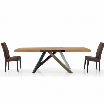 Extendable Dining Table up to 450 cm in Laminated Made in Italy – Salentino