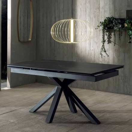 Extendable Dining Table of Design with Ceramic Top Up to 240 cm - Ultron