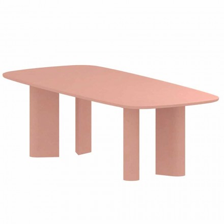 Design Dining Table in Clay Made in Italy - Bonaldo Geometric Table