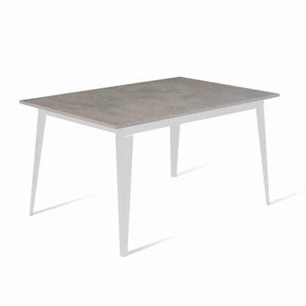 Modern Extendable Dining Table Up to 190 cm Made in Italy - Miko