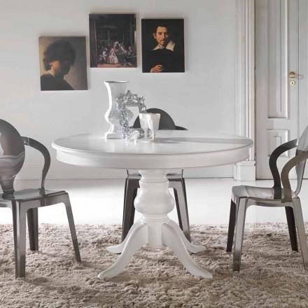 Round classic design dining table Oliva
