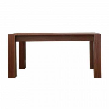Extendable design table up to 260cm in Jacob oak