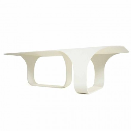 Modern design table made in Italy, Mirabello