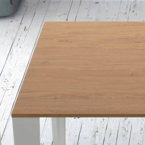 Wood Veneered Table Extendable up to 325cm Made in Italy - Seventy