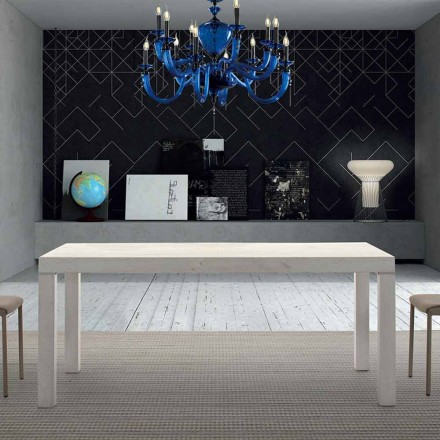 Extendable Melamine Wood Table up to 470 cm Made in Italy – Gordito