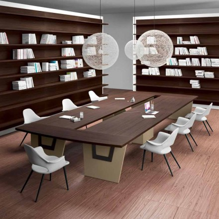 Meeting table Della Rovere Larus, designed by Andrea Stramigioli