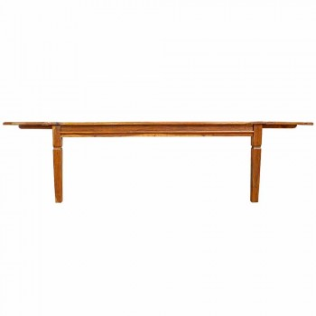 Extendable Dining Table Up to 290 cm in Solid Wood Homemotion - Carbo
