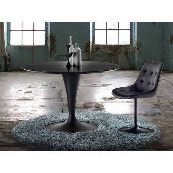 Round Table, Extensible and with Modern Design - Borgia