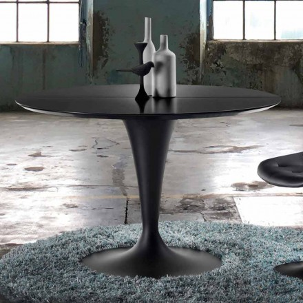 Modern design round extendable table – Borgia