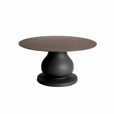 Classic Design Round Table in HPL, diameter 140cm - 19th century