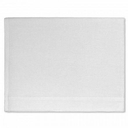 Bath Towel in Cream or Natural White Pure Linen Made in Italy - Blessy
