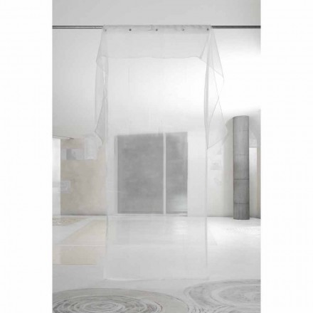 Elegant Luxury Curtain with Organza, Design and Quality Made in Italy - Organdy