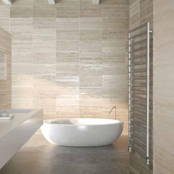Hydraulic design hydromassage bath, chrome finish, Winter Scirocco H