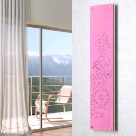 Decorative hot water radiator, modern design New Dress by Scirocco H