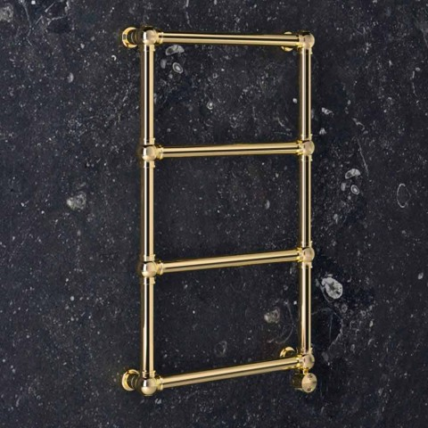 Electric Modular Radiator in Chrome or Gold Brass at 200 W - Caesar