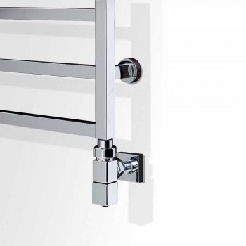 Modern chromed electric heating design by Winter design by Scirocco H