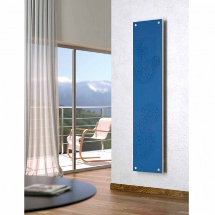 Designer vertical electric radiator with cover New Dress by Scirocco H