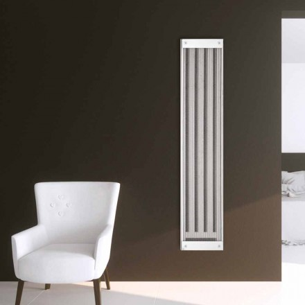 Modern design vertical electric radiator New Dress by Scirocco H