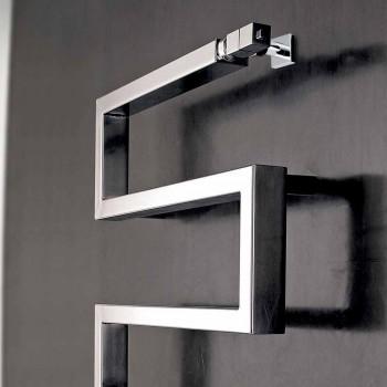 Chromed hydraulic hood Snake by Scirocco H, modern design