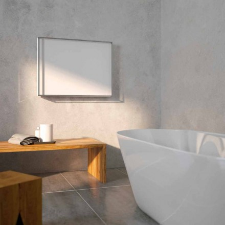 Designer hot water radiator with steel cover Light by Scirocco H