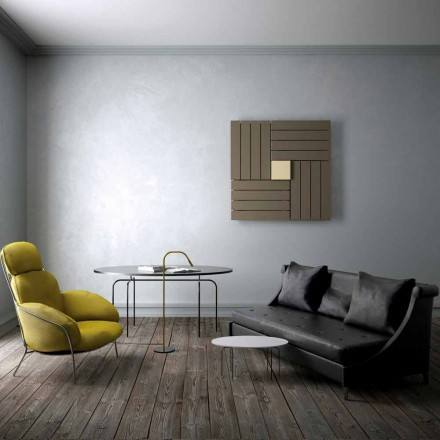 Contemporary hot water radiator Square made in Italy by Scirocco H