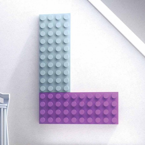 Modern design plumbing hydraulic heater Brick by Scirocco H