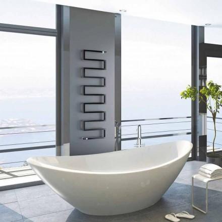 Vertical hot water radiator Snake by Scirocco H, modern design