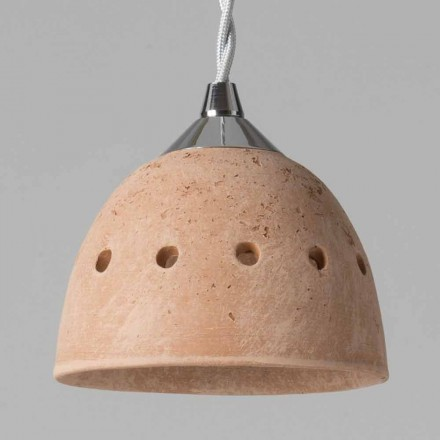 Toscot Apuane terracotta pendant light
