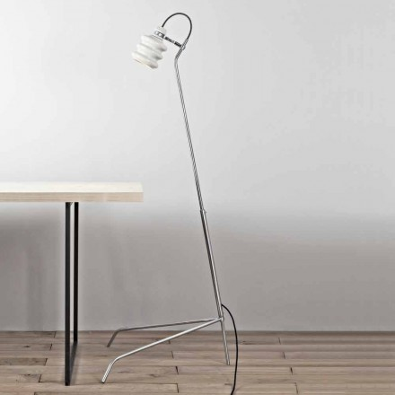 Toscot Battersea ceramic and metal floor lamp, modern design made in Italy
