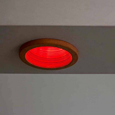 Toscot Carso recessed light Ø14 made in Tuscany