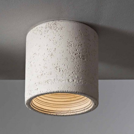 Toscot Carso ceiling light Ø13 made in Tuscany
