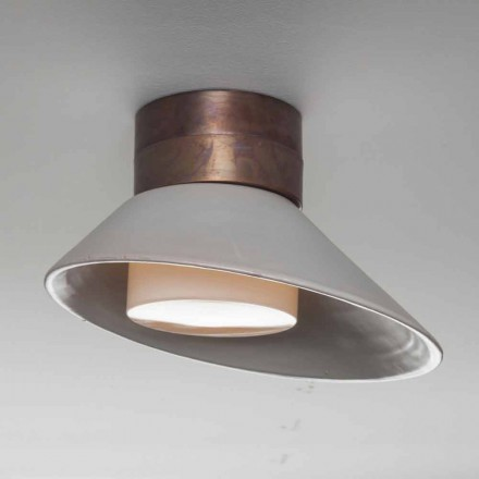 Toscot Chapeau! Wall / ceiling lamp made in Tuscany