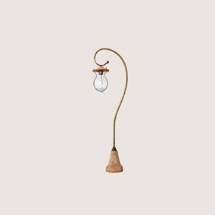 Toscot Firenze handmade terracotta outdoor lamp