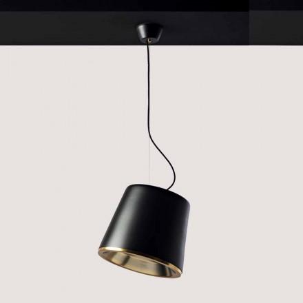 Toscot Henry terracotta pendant light with canopy Ø37cm, 1 piece