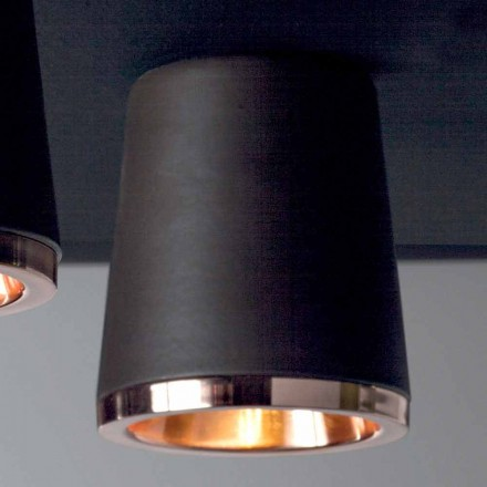 Toscot Henry ceramic ceiling light, modern design