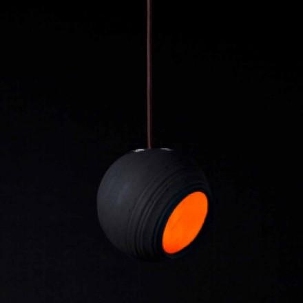 Toscot Newton terracotta pendant lamp, modern design