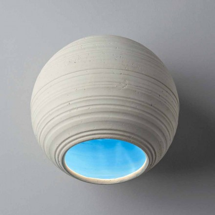 Toscot Newton wall sconce/ceiling lamp, made in Tuscany