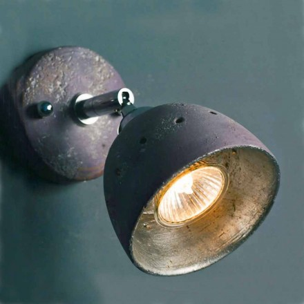 Toscot  Noceto terracotta spotlight with 1 directional light