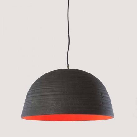 Toscot Notorius terracotta pendant lamp, modern design made in Italy