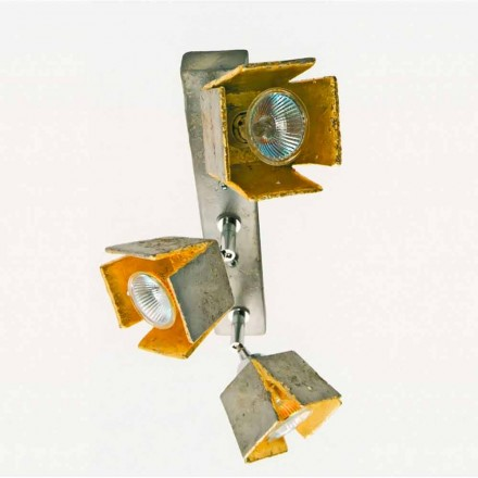 Toscot Piastre wall sconce with 3 directional lights