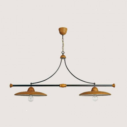 Toscot Settimello handmade terracotta pendant light