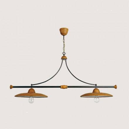 Toscot Settimello handmade terracotta pendant light